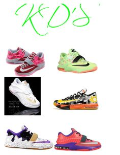 """Kevin Durant 2"" by shantiboo32 ❤ liked on Polyvore featuring NIKE"