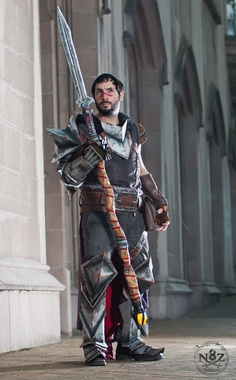 Hawke cosplay submitted by Chinbeard
