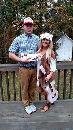Forest and Jenny Gump Halloween Costumes
