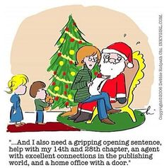 I am the one on Santa's lap!...