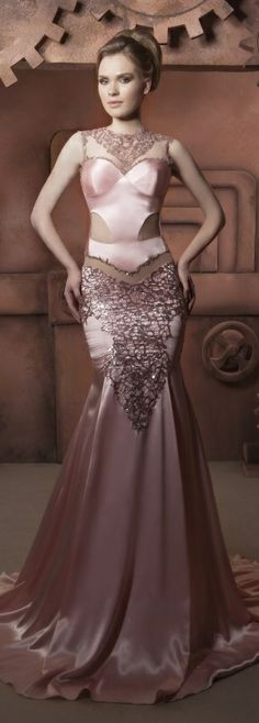 Hassan Mazeh gorgeous evening dress