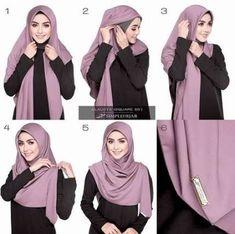 50391064 with square hijab hijab fashion Square hijab tutorial hijab tutorial - Hijab Tutorial Hijab Segitiga, Square Hijab Tutorial, Simple Hijab Tutorial, Pashmina Hijab Tutorial, Scarf Tutorial, Stylish Hijab, Hijab Casual, How To Wear Hijab, How To Wear Scarves