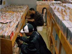 Record digging