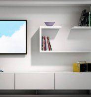 Dissimuler la télévision dans un meuble - Marie Claire Maison
