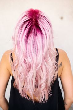 How to create a cotton candy Balayage