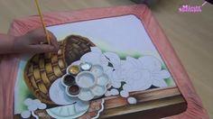 Pintando com Márcia Spassapan - Cesta com Frutas