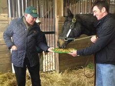 Trainer Jonathan Sheppard wishes Storm Cat a happy 30th birthday today!(2/27/13)