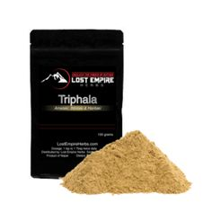 """Triphala is One of the Most Often Used Herbal Combos in Ayurveda and A Powerful Rejuvenator and Cleanser* Triphala means """"three fruits"""". Those three fruits are Amalaki, Haritaki and Bhibitaki. Each one is great in its own right, but combined they become Triphala, one of the most important herbs in Ayurveda for balancing the five elements. It is a powerful rejuvenative to all constitutions, a rasayana suitable to all three doshas."""