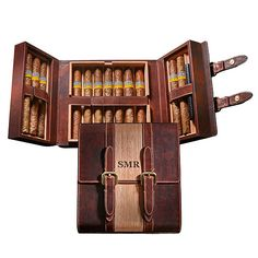 Buy the Travel Leather Cigar Humidor at Wine Enthusiast – we are your ultimate destination for wine storage, wine accessories, gifts and more!