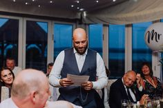 Groom speeches with a view 📸 - Claire Randell Barn Wedding Venue, Rustic Wedding, Wedding Reception, Groom's Speech, London Wedding, Outdoor Ceremony, Claire, Marriage Reception, Wedding Receiving Line