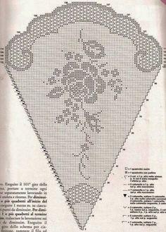 Home Decor Crochet Patterns Part 140 - Beautiful Crochet Patterns and Knitting Patterns Filet Crochet Charts, Crochet Doily Patterns, Thread Crochet, Crochet Doilies, Crochet Flowers, Crochet Lace, Crochet Stitches, Free Crochet, Knitting Patterns