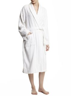 026ae65d59 White Ladies Towelling Dressing Gown