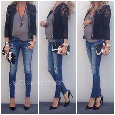 .@upcloseandstylish | IRO jacket Zar tank top, Rag_Bone jeans, #Louboutin 'Pigalle heels