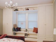 Built in Cabinets Bedroom | adding a closet to the bedroom the bedrooms in this newton ma house ...
