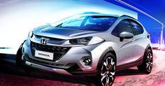 Honda revela novo SUV WR-V para o Salão do Automóvel de São Paulo