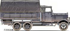 Engines of the Wehrmacht - Henschel 33 G/D 3-ton 6x4 Cargo Truck