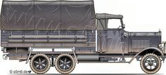 Engines of the Wehrmacht - Henschel 33 G/D 3-ton 6x4 Cargo Truck