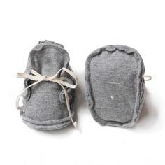 GRAY LABEL Baby Booties grau-melange