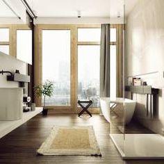 KOLEJOWA: styl Nowoczesny, w kategorii Łazienka zaprojektowany przez KAEEL.GROUP ARCHITEKCI