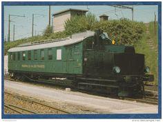 RVT Chemin De Fer Régional Du Val-de-Travers - Dieselelektrischer Triebwagen ABm 2/5 Nr. 9 - Zürich, 11.5.1982 - Bahn - Trains  Switzerland  #railway #postcard #train #bahn #ferrovia #ansichtskarten #cartoline #cartepostale #locomotive #lokomotive