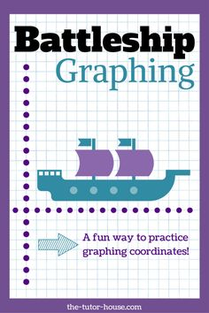 Learn how to engage your students in this battleship graphing lesson - free directions and a link to free graph paper