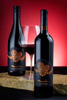 Meandra wine label design by the Labelmaker on Behance