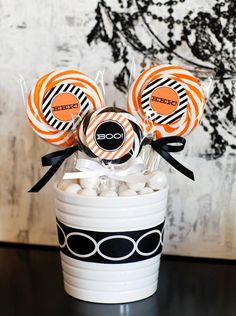 Craft Cute Favors  - 30 Halloween Kids' Crafts on HGTV