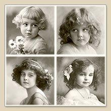 Serwetka do decoupage 4 Girls Vintage - sklep Decoupage Art.pl