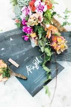 Simple Black and White Invites | Photo: Photography by Regina
