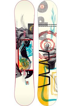 Snowboard design by Aesthetic Apparatus