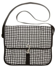 LeSportsac Houndstooth campus bag. Perfect for travel.