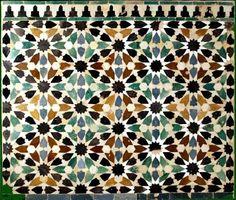 Tiles at The Alhambra, Granada