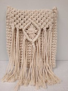 Crochet Handbags, Crochet Bags, Crochet Cord, Bag Women, Bohemian Summer, Summer Bags, Beige Color, Macrame, Handmade Items