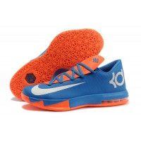 quality design eb2cf 0b79e Buy Nike Kevin Durant KD 6 VI Royal Blue Orange-White Orange Shoes,
