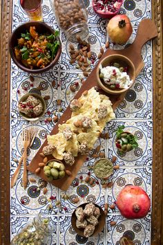 With this fresh, healthy and eclectic Middle Eastern appetizer platter, you can be sure that all of your guests will have something they can eat at your party, regardless of their dietary restriction.