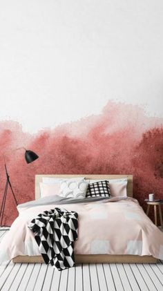 PAINTZEN | Walls to blush about on the blog.