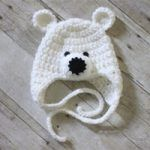 Crochet Polar Bear Hat Pattern