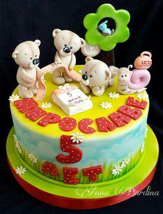 Bears baby cake