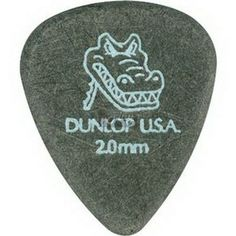 Dunlop Gator Grip, Black, Pack Gauges (mm): High-quality plectra Incorporates quick-release beveled edges and matte gripping surface Provides both playability and positive attack Made in USA Guitar Chords, Ukulele, Acoustic Guitar Accessories, Guitar Picks, Music Instruments, Packing, Gauges, Surface, Products