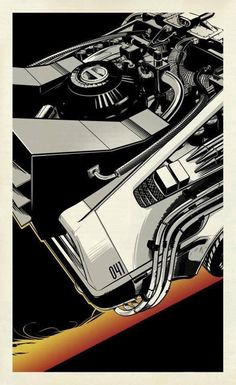 The Future Movie, Back To The Future, Star Wars Comics, Cool Posters, Movie Posters, Cinema Tv, Ready Player One, Art Graphique, Geek Art