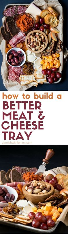 Leave the pre-made meat & cheese trays in the store. Wow your friends and family when you follow these expert tips on How to Build a Better Meat and Cheese Tray!