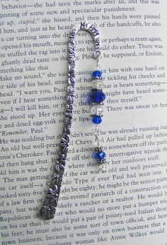 metal bookmarks with bead