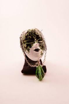 Mask brooch Cineva.net Brooches, My Arts, Unisex, Brooch