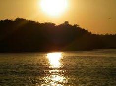 Atardecer Rio Aguaro - Guariquito, Estado Guárico
