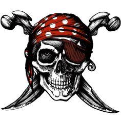 Skull and Cross Bones - Unique tattoo designed car decals ...