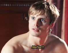 "All the fandoms, explained in one GIF each. So perfect. Click it. The merlin Fandom one is the best! lol I'm watching this episode now! I'm on season 2!!! NO SPOILERS!!!! Don't even say ""It'll end in tears"" or ""You'll love it"" or something....<<<Yep."