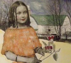 Lavender Anne original mixed media painting on by MaudstarrArt, $44.99