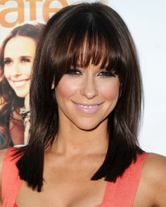 Great dark brunette hair color. She just has really great hair