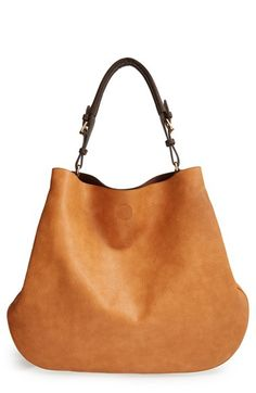 Sole Society Sole Society 'Capri' Faux Leather Tote available at Fashion Bags, Fashion Accessories, Spring Bags, Crochet Tote, Cute Bags, Big Bags, Tote Handbags, Leather Bag, Leather Totes