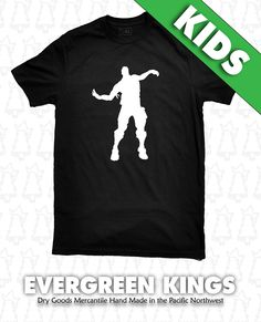 fortnite the worm emote dance kids youth sizes t shirt pick a logo color by evergreenkings on etsy - fortnite the worm remix